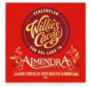 Willie's Cacao - Pure chocolade 70% - Almendra - Venezuela - 50 gram
