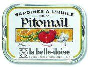 la Belle-Iloise - Sardines à la sauce Pitomaïl - 115 gram