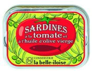 la Belle-Iloise - Sardines in olijfolie met tomaat - 115 gram