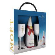 Moët & Chandon - Ice Imperial Rosé in geschenkverpakking met twee glazen - 0.75 - n.m.