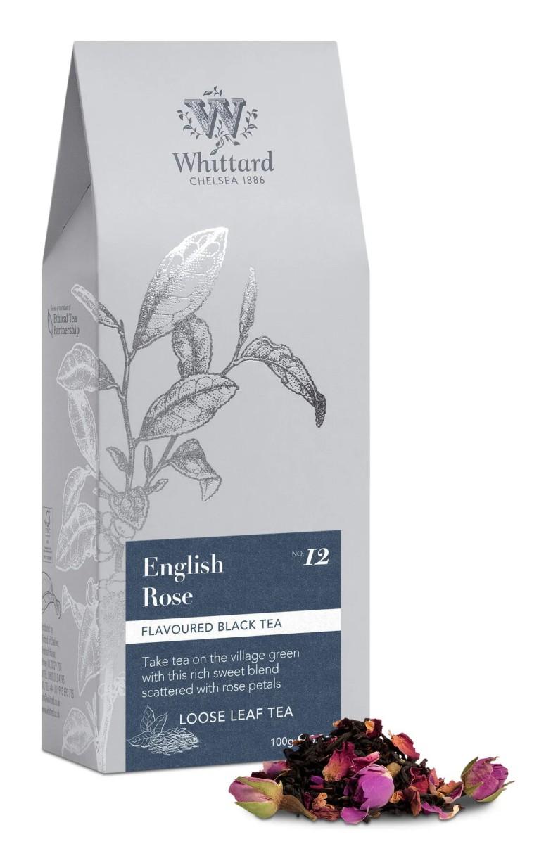 Whittard - Losse thee in blik - English Rose - 100 gram