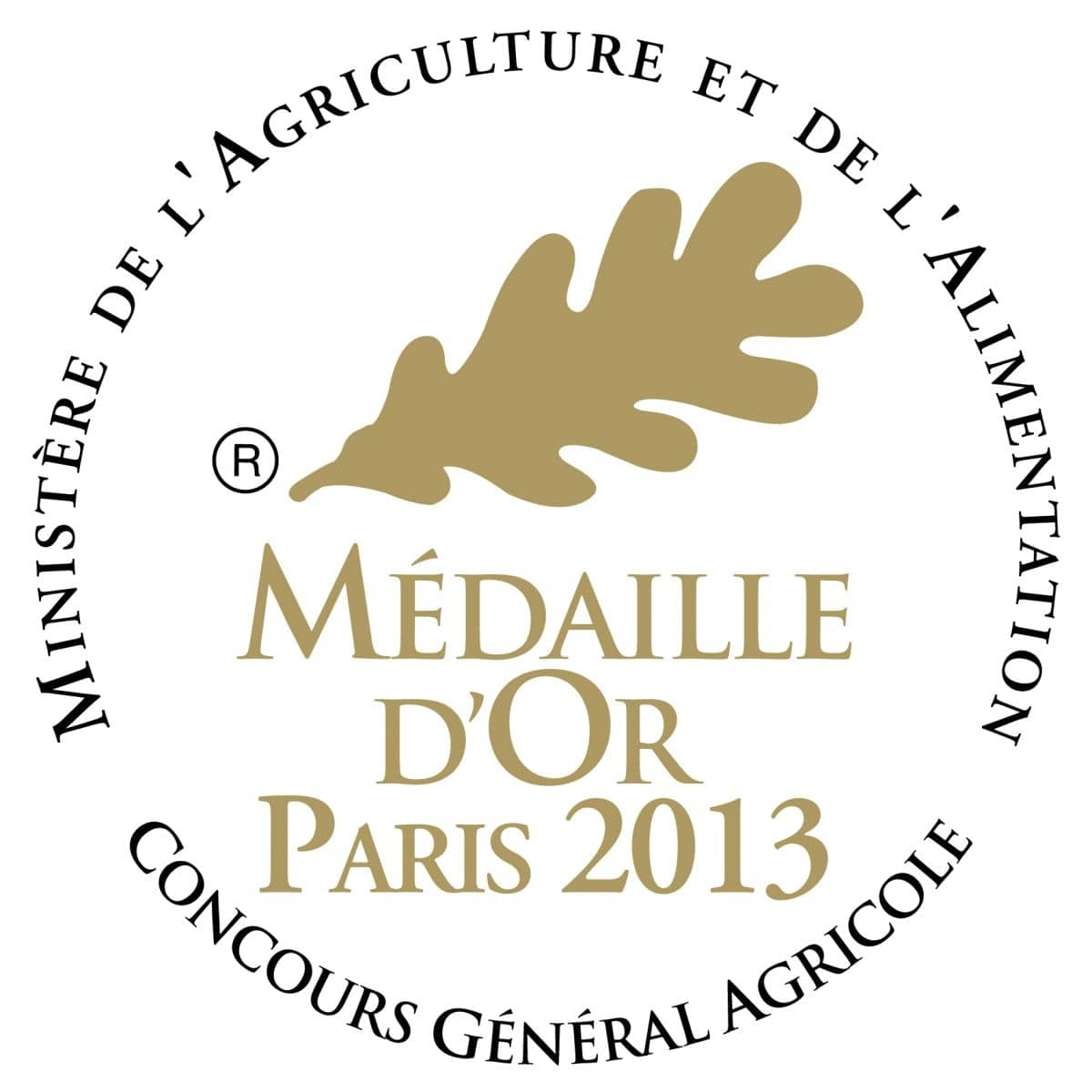 Medaille d'or paris AIX